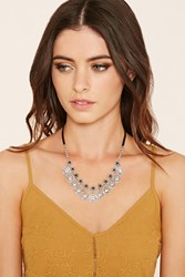 Forever 21 Burnished Heart Charm Necklace
