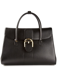 Delvaux Brilliant Double Poignee Black