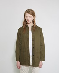 Mhl By Margaret Howell A Line Jacket Khaki