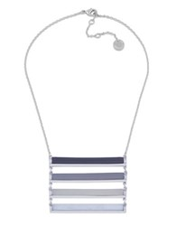 French Connection The Candystick Ladder Necklace Blue