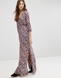 Blend She Paisley Print Maxi Dress Multi
