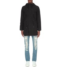 Diesel J Ibiki Cotton Canvas Jacket Black