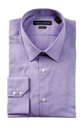 Vince Camuto Pincord Modern Fit Dress Shirt Purple