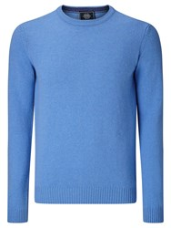 John Lewis Made In Italy Merino Cashmere Jumper Light Blue