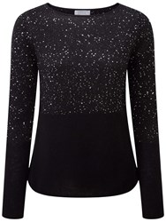 Pure Collection Zuri Sparkle Jumper Black