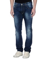 David Mayer Naman Denim Pants Blue