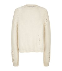 J.W.Anderson Chunky Knit Sweater Male Cream