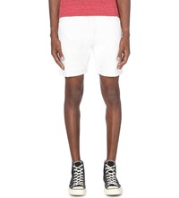 Levi's 501 Slim Fit Tapered Shorts White Light