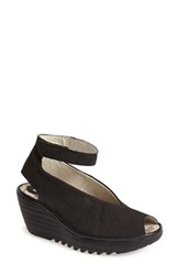 Women's Fly London 'Yala' Perforated Leather Sandal 2 1 2' Heel