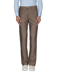 Icon Trousers Casual Trousers Men Cocoa