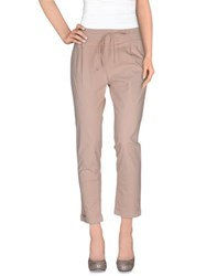 Magazzini Del Sale Trousers Casual Trousers Women Skin Colour