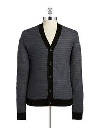 Strellson Button Front Cardigan Black