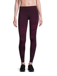 Hpe Holiday Seamless Camo Leggings Plum