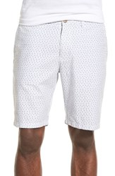Men's 1901 'Thurston' Polka Dot Stripe Oxford Shorts