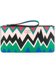 Salvatore Ferragamo Printed Clutch Multicolour