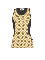 Fendi Bag Bugs Eyes Print Performance Tank Top