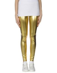 Mnml Couture Trousers Leggings Women Gold