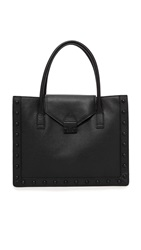 Loeffler Randall East West Work Tote Black