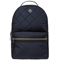 Moncler Gigi Quilted Backpack Blue