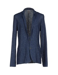 Tanomu Ask Me Suits And Jackets Blazers Men Blue
