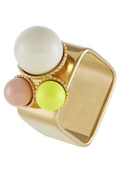 Sabrina Dehoff Ring Rose Neon Yellow White
