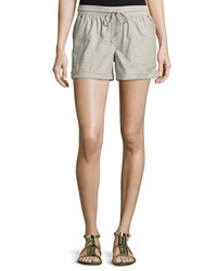 Candc California C And C California Drawstring Rolled Cuff Shorts