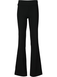 Nicole Miller Flared Trousers Black