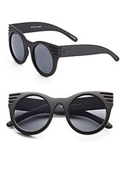 Minkpink 50Mm Cat's Eye Sunglasses Black