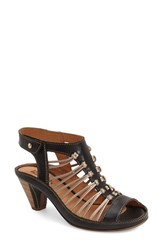Women's Pikolinos 'Java' Sandal Black Leather