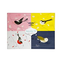 Magpie Birdy Ii Placemat Set Of 4