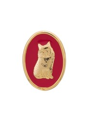 Theatre Products Cat Earrings Metallic