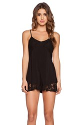 Ladakh One Love Playsuit Black