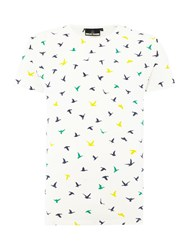 Duck And Cover Rewind T Shirt Off White