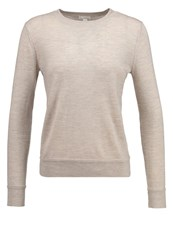 Gap Jumper Oatmeal Heather Mottled Beige