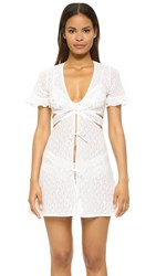 For Love And Lemons Cindy Robe White