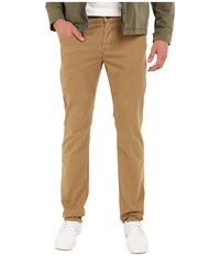 Hudson Blake Slim Straight In Raw Umber Raw Umber Men's Casual Pants Brown