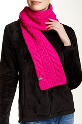 The North Face Cable Minna Scarf Pink
