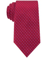 Tommy Hilfiger Connected Dot Tie Red