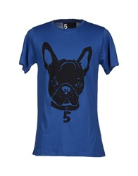 5Preview Topwear T Shirts Men Blue