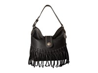 American West Rio Rancho Hobo Shoulder Bag Black Shoulder Handbags