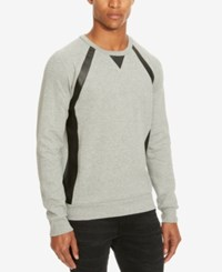 Kenneth Cole Reaction Men's Double Faced Sweater Charcoal Heather