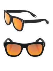Givenchy 52Mm Wayfarer Sunglasses Black Orange