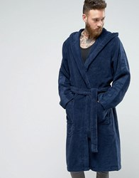 Calvin Klein Dressing Gown Blue