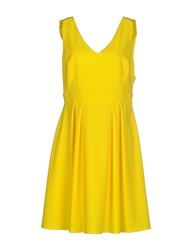 Imperial Star Imperial Dresses Knee Length Dresses Women Yellow