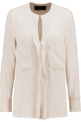 By Malene Birger Timoty Crepe Blouse White