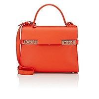 Delvaux Women's Tempete Mm Satchel Red