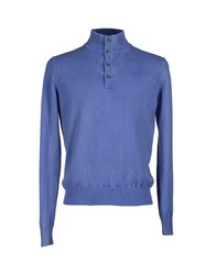 Della Ciana Turtlenecks Blue