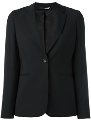 Paul Smith Ps By Single Button Blazer Black