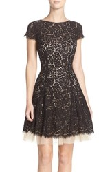 Women's Eliza J Lace Fit And Flare Dress