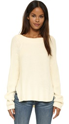 Earnest Sewn Andy Sweater Aged White